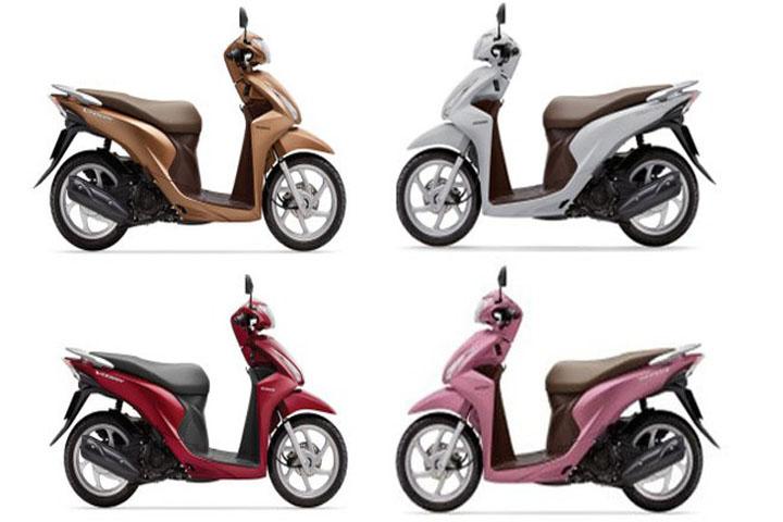 Mẫu xe máy được yêu thích nhất tại Việt Nam với giá tầm trung