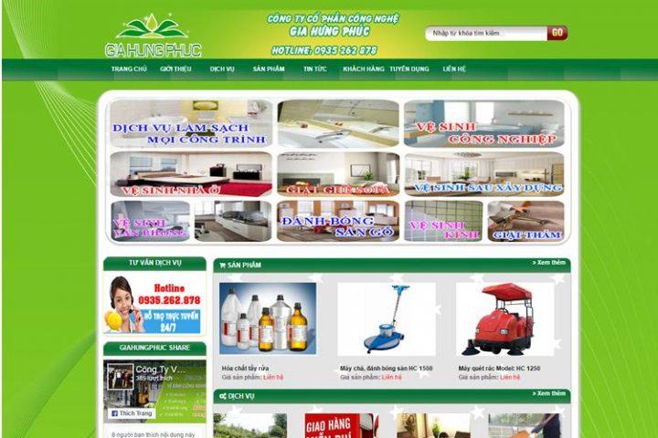giahungphuc, ve sinh cong nghiep, thiet ke web cong ty, website doanh nghiệp, thiết kế web, website đà nẵng, website giá rẻ, web bán hàng, quảng cáo website, thương mại điện tử, seo top google, seo online
