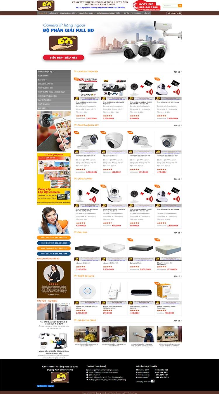 DuongAnh-Smarthome- Camera an ninh